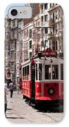 Nostalgic Tram 01 IPhone Case by Rick Piper Photography