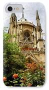 Notre Dame De Paris IPhone Case by Elena Elisseeva