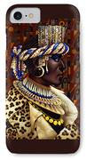 Nubian Prince IPhone Case by Jane Whiting Chrzanoska