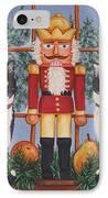 Nutcracker Sweeties IPhone Case by Beth Clark-McDonal