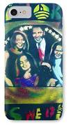 Obama Family Victory IPhone Case by Tony B Conscious