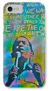 Obama In Living Color IPhone Case by Tony B Conscious