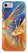 Ocean Lions IPhone Case by Tracy L Teeter