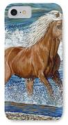 Ocean Stallion IPhone Case by Danielle  Perry