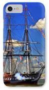 Old Ironsides 1012 IPhone Case by Jeff Stallard
