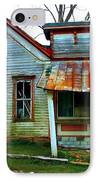 Old Leavenworth Indiana IPhone Case by Julie Dant