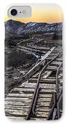 Old Mining Tracks IPhone Case by Aaron Spong