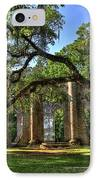 Old Sheldon Church Ruins 2 IPhone Case by Reid Callaway