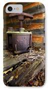 Old Sorghum Press IPhone Case by Debra and Dave Vanderlaan