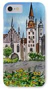 Old Town Hall Munich Germany IPhone Case by Irina Sztukowski