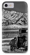 Old Truck IPhone Case by Robert Bales