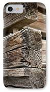 Old Wood IPhone Case by Frank Tschakert