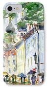 Oldtown Tallinn Estonian IPhone Case by John D Benson