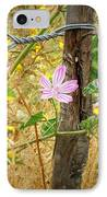 On The Fence IPhone Case by Lainie Wrightson
