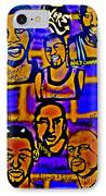 Once A Laker... IPhone Case by Tony B Conscious