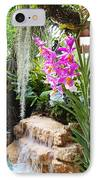 Orchid Garden IPhone Case by Carey Chen