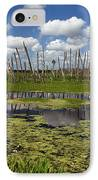 Orlando Wetlands Cloudscape 2 IPhone Case by Mike Reid