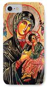 Our Lady Of Perpetual Help Icon IPhone Case by Ryszard Sleczka