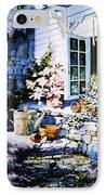 Over Sleepy Garden Walls IPhone Case by Hanne Lore Koehler