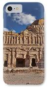 Palace Tomb In Nabataean Ancient Town Petra IPhone Case by Juergen Ritterbach