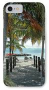 Path To Smathers Beach - Key West IPhone Case by Frank Mari