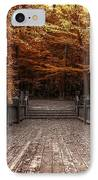 Path To The Wild Wood IPhone Case by Scott Norris
