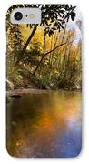 Peace Like A River IPhone Case by Debra and Dave Vanderlaan