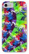 Peacock IPhone Case by Chris Butler