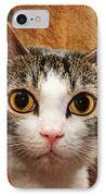 Peek A Boo I See You IPhone Case by Andee Design