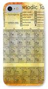 Periodic Table Of The Elements IPhone Case by Georgia Fowler