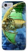 Pescatus Mechanicus IPhone Case by Ciro Marchetti