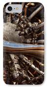 Pilot - Plane - Engines At The Ready  IPhone Case by Mike Savad