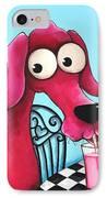 Pink Milk IPhone Case by Lucia Stewart