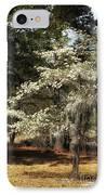 Plantation Tree IPhone Case by John Rizzuto