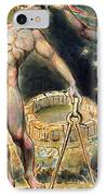 Plate 100 From Jerusalem IPhone Case by William Blake