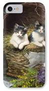 Playtime IPhone Case by Leon Charles Huber