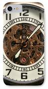 Pocket Watch IPhone Case by John Rizzuto