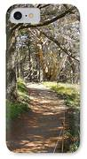 Point Lobos Cypress Path IPhone Case by Jack Schultz