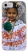 Pollera Costume IPhone Case by Heiko Koehrer-Wagner