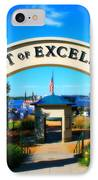 Port Of Excelsior IPhone Case by Perry Webster