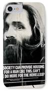 Poster Boy Charlie IPhone Case by Ed Weidman