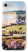 Powerhouse Beach Del Mar Lilac IPhone Case by Mary Helmreich