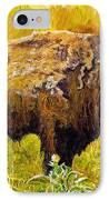 Prairie Companions IPhone Case by Michael Durst
