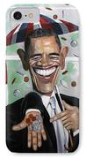 President Barock Obama Change IPhone Case by Anthony Falbo