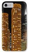 Presidential Towers Chicago IPhone Case by Christine Till