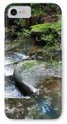 Pretty Green Creek IPhone Case by Kaye Menner