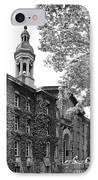Princeton University Nassau Hall IPhone Case by University Icons