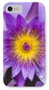 Purple IPhone Case by Heiko Koehrer-Wagner