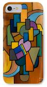 Puzzle IIi IPhone Case by Larry Martin