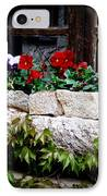 Quaint Stone Planter IPhone Case by Lainie Wrightson